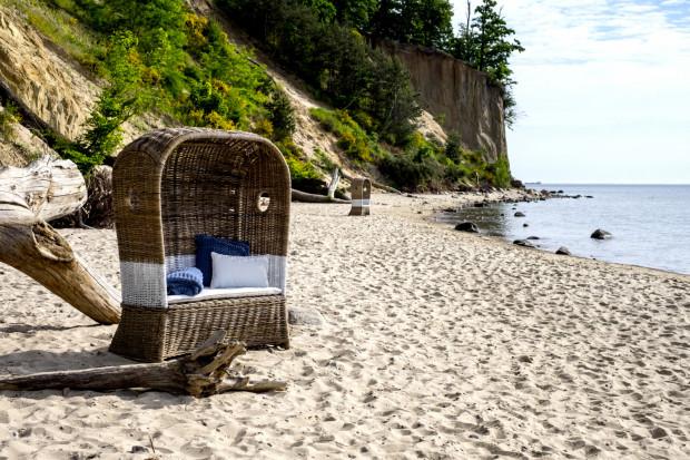 Plażowy kosz rattanowy St. Tropez Duo.