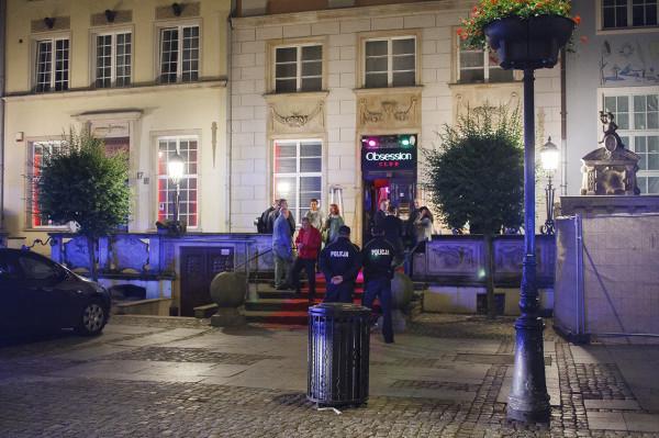 Policja weszła do klubu Obsession w nocy z 30 czerwca na 1 lipca.