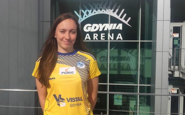 Alicja Pękala będzie grała w Vistalu na prawym rozegraniu.