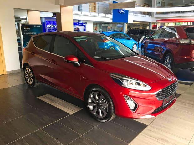 Nową Fiestę już teraz można oglądać w gdyńskim salonie Forda. Na pierwsze jazdy testowe trzeba poczekać trzy tygodnie.
