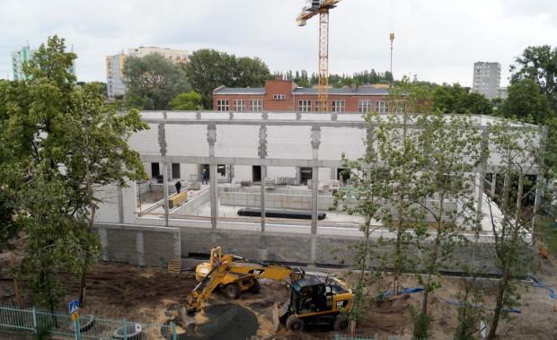 Budowa basenu na Stogach. Prace mają się zakończyć pod koniec listopada.