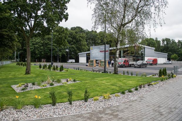 Budowa pierwszego sklepu Lidl na Stogach jest na ukończeniu.