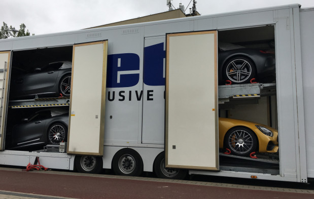 Nowy Mercedes-AMG GT C Roadster w Gdyni.