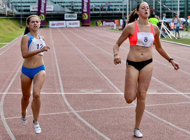 Paulina Ligarska (z prawej) uzyskała podczas mistrzostw Europy U-23 rekord życiowy w siedmioboju, co dało jej 10. miejsce.