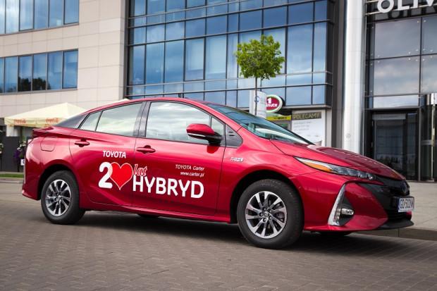 Nowa Toyota Prius Plug-in Hybrid.