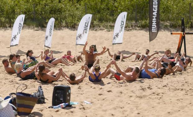 Summer PRO Challnege to także ćwiczenia w formie zabawy.