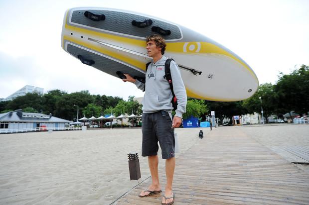 Przemysław Miarczyński obecnie jest pływającym trenerem, ale jest już bliski definitywnego odłożenia deski jako zawodnik.
