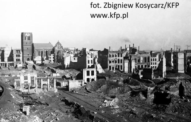 Powojenne zniszczenia Gdańska spowodowały, że nie każdy chciał, by pozostał on w Polsce.