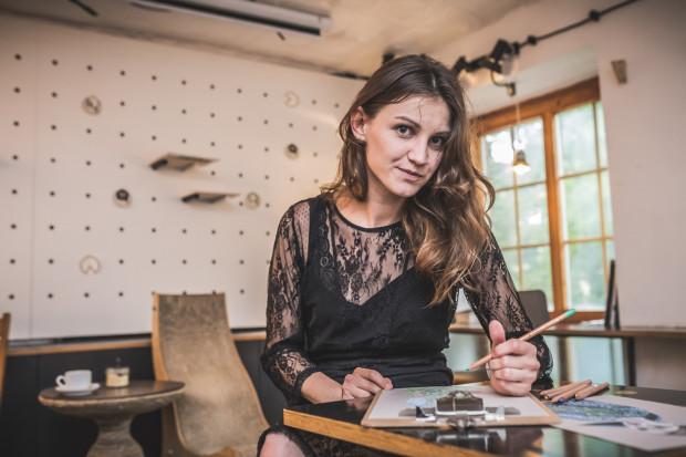 Pasja do mody jest dla Agnieszki równie ważna jak zamiłowanie do projektowania wnętrz.
