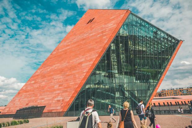 W ubiegłe wakacje Muzeum II Wojny Światowej było jeszcze placem budowy.