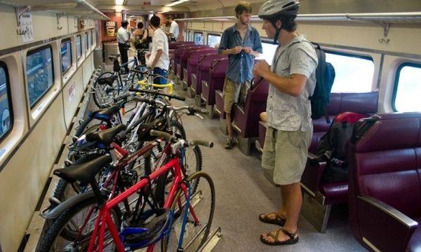 Czy kiedykolwiek warunki przewozów rowerów w polskich pociągach dorównają tym u naszych zachodnich sąsiadów?