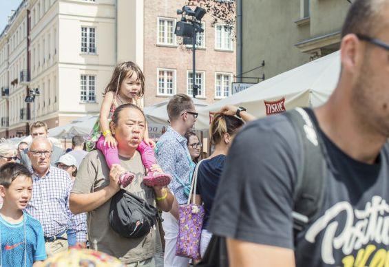 Jarmark św. Dominika przyciąga nie tylko turystów z Polski.