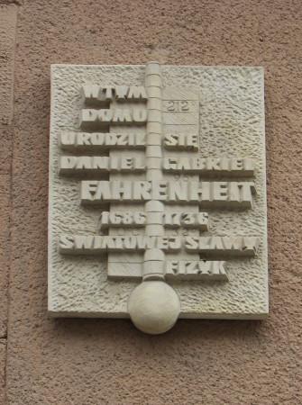 Tablica pamiątkowa na kamienicy przy ul. Ogarnej
