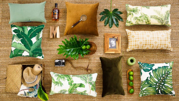 Różnorodne motywy roślinne są jednym z najbardziej powszechnych aktualnie trendów.