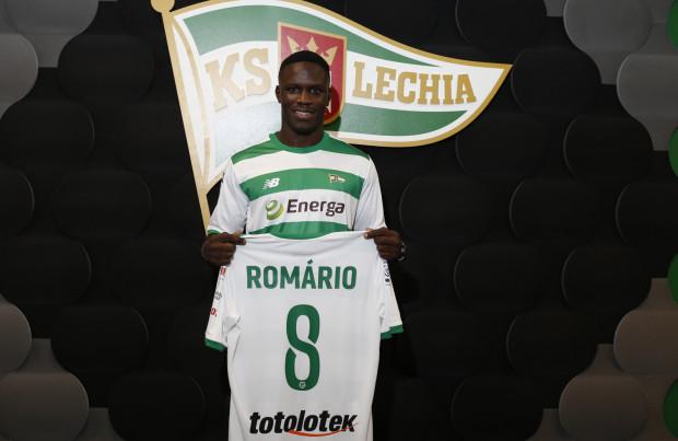 Romario Balde będzie grał w Lechii z numerem 8.