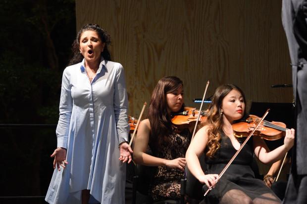 Nerine Yeghiyan w roli Marceliny przyćmiła swoją interpretacją Barbarę Krieger, odtwarzającą rolę tytułową.