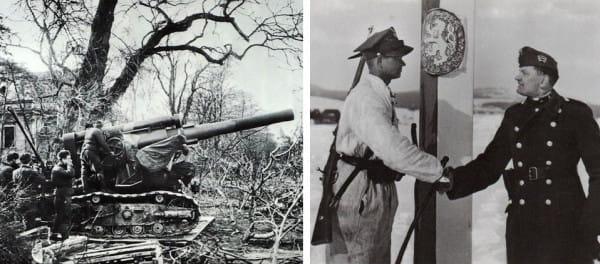 23 marca: zdobycie Sopotu przez Rosjan nie zasługuje na upamiętnienie, dzień przyjaźni polsko-węgierskiej - już tak (nz. żołnierze polski i węgierski na wspólnej granicy).