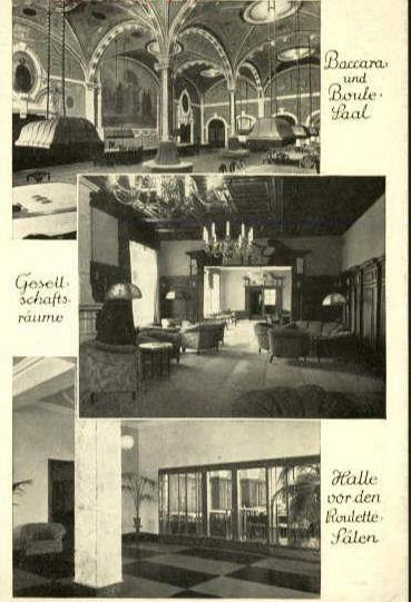 Kasyno w Domu Zdrojowym w Sopocie otwarto w 1919 roku, ale później systematycznie je powiększano.