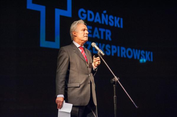 Jerzy Limon na własną prośbę pozostanie dyrektorem Gdańskiego Teatru Szekspirowskiego tylko przez trzy lata.