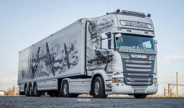 Ta pięknie ozdobiona Scania wygrała ubiegłoroczne wybory. Jak będzie podczas tegorocznej edycji?