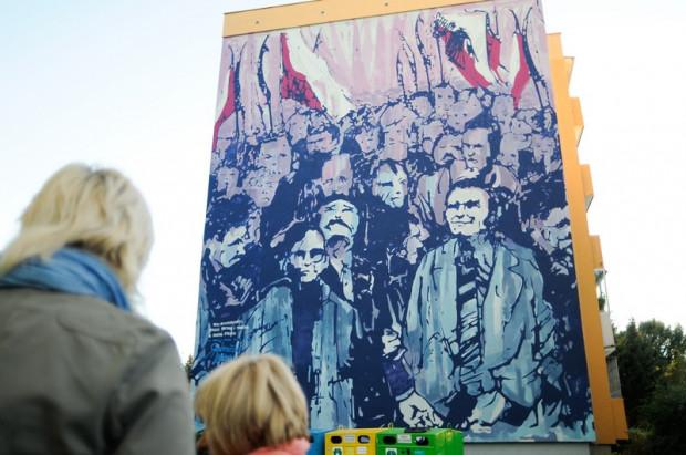 W nadchodzącym tygodniu możemy wybrać się na spacer śladami murali na Zaspie.