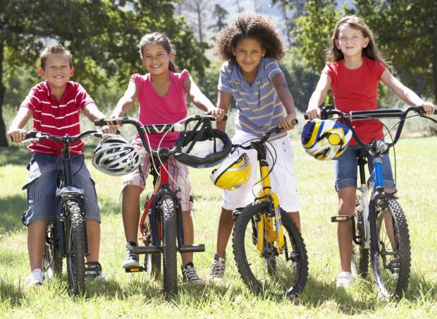 Dobrze dopasowany rower z pewnością zachęci dziecko do jazdy