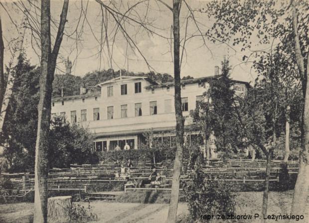 W czasie I wojny światowej, najprawdopodobniej pod jej koniec, w hotelu mieścił się lazaret.