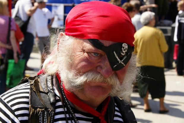Andrzej Sulewski był samozwańczym, ale lubianym przez większość gdańszczan i turystów piratem z Głównego Miasta.