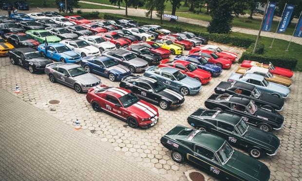 Podczas sobotniej wystawy zobaczymy wszystkie generacje legendarnego Mustanga.