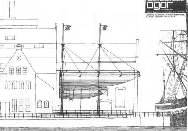 Koncepcja - wizja projektantów amfiteatru Filharmonii Bałtyckiej.