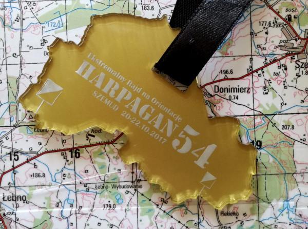 Pamiątkowy medal dla uczestników Harpagana