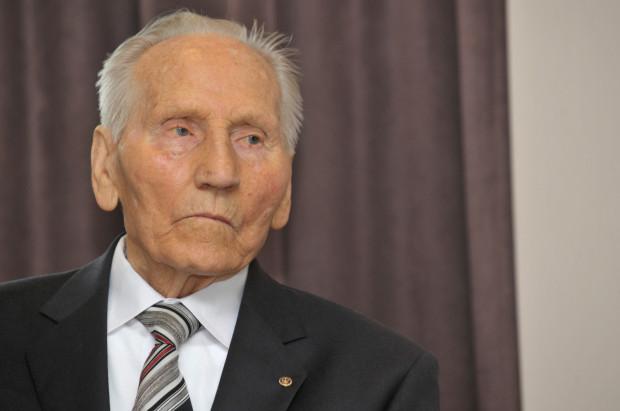 Kazimierz Piechowski. Zdjęcie pochodzi z 2015 roku.