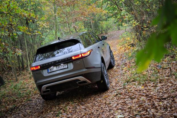 Nowy Range Rover Velar.