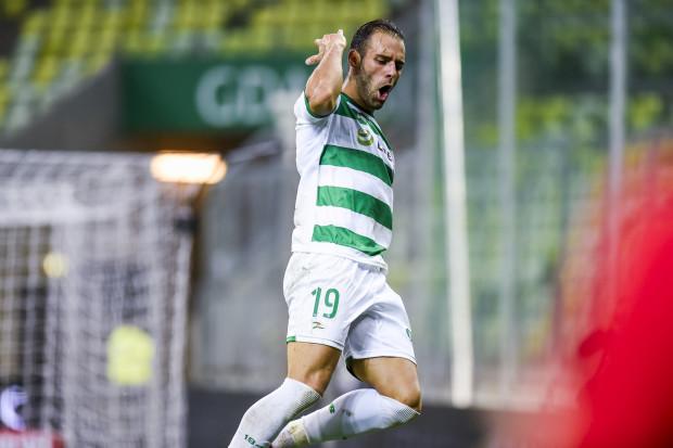 Marco Paixao jest najskuteczniejszy snajperem ekstraklasy, licząc od lata 2016 roku. Tak cieszył się z ostatniego gola, strzelonego Lechowi Poznań.