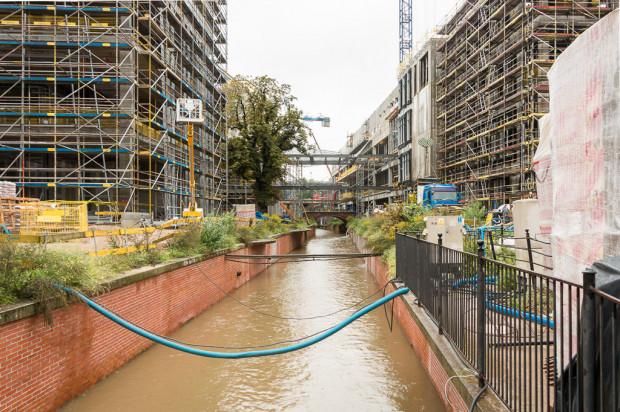 Pomorska wojewódzka konserwator zabytków uważa, że plan miejscowy nie pozwala na podział koryta kanału Raduni. Nie wiadomo, czy jej zdanie podzieli minister kultury i dziedzictwa narodowego.