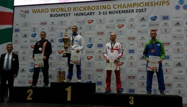 Łukasz Puczyński z brązowym medale mistrzostw świata.