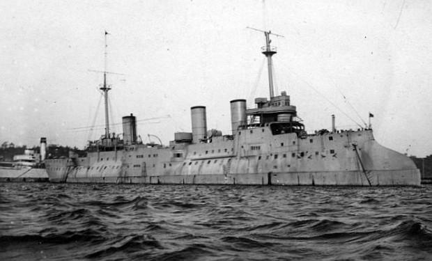 """Największą jednostką, jaką dowodził Jerzy Kłossowski, był krążownik ORP """"Bałtyk""""."""