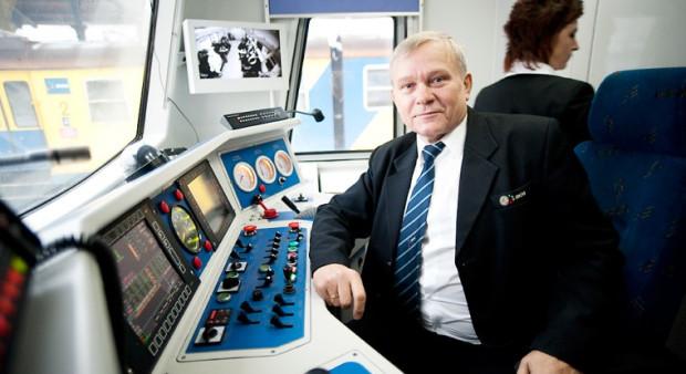 Andrzej Urbaniak jest najstarszym maszynistą w Trójmieście. Właśnie odchodzi na emeryturę.