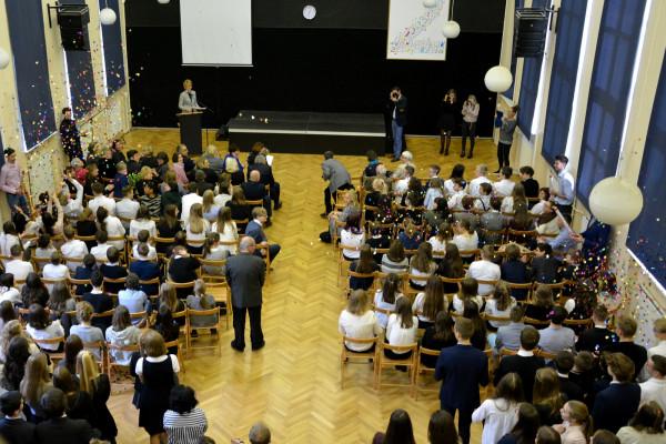 Gdyńskie liceum nr 2 uzyskało certyfikat  LabelFrancEducation.
