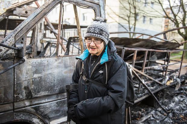 Pani Lidia jednej nocy straciła wszystko nad czym od kilku miesięcy ciężko pracowała. Można jednak jej pomóc.