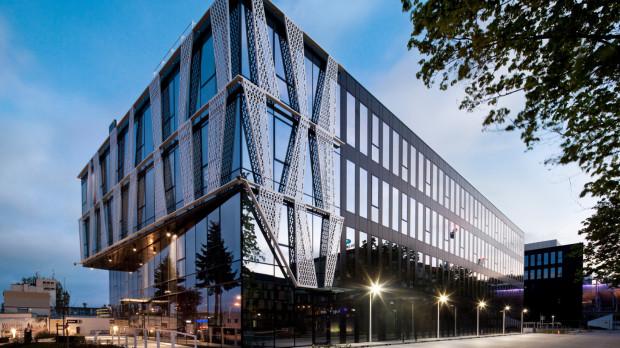 Budowa kompleksu biurowców tensor została zakończona w 2017 roku.