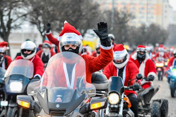 Przez Trójmiasto przejadą Mikołaje na motocyklach.
