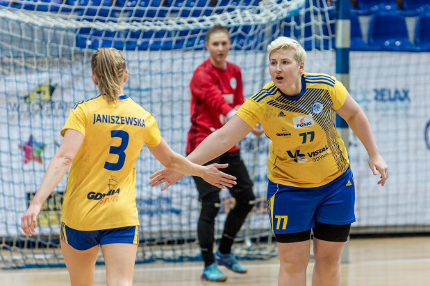 Patrycja Kulwińska (nr 77) w Vistalu grała od stycznia 2010 roku.