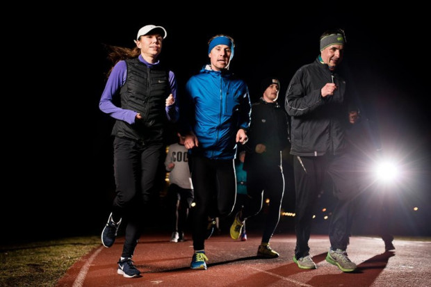 W Gdańsku i w Gdyni treningi Biegam Bo Lubię Nocą odbywają się co poniedziałek o godz. 20.