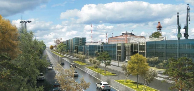 Wizualizacja sprzed kilku lat możliwej zabudowy wzdłuż ul. Jana z Kolna o wysokości do 12 m.