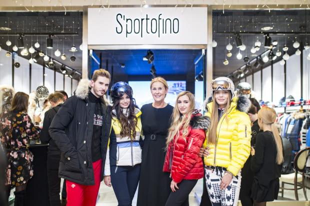 W środowy wieczór odbyło się otwarcie salonu S'portofino w gdyńskim Klifie. Na zdjęciu: właścicielka Bożena Ślęzak i modele.
