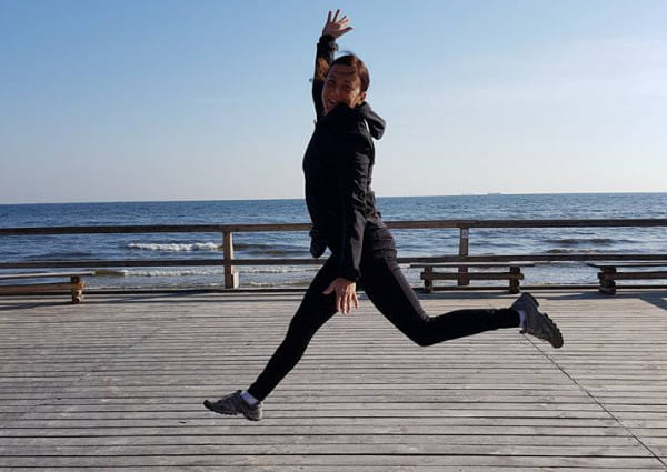 Dagmara Tarkowska nie wyobraża sobie życia bez aktywności fizycznej i zarażania nią innych osób.