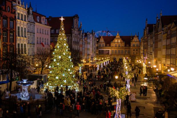 W okresie świątecznym warto wybrać się na spacer po Gdańsku.