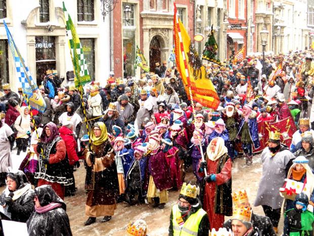 Orszak Trzech Króli przejdzie też ulicami Gdańska.