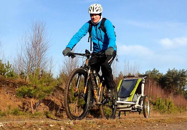 Pętla Czarlina to ciekawy, znakowany szlak rowerowy, w szczególności dla rodzin z dziećmi